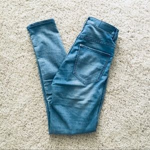 Super skinny high-waisted jeggings